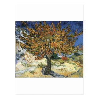 Árbol de mora de Van Gogh Postal