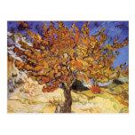 Árbol de mora de Vincent van Gogh Postales