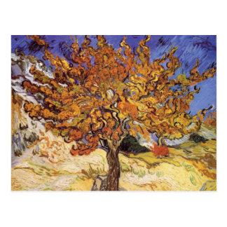 Árbol de mora de Vincent van Gogh Postal