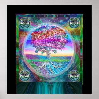 Árbol de Namaste de la vida