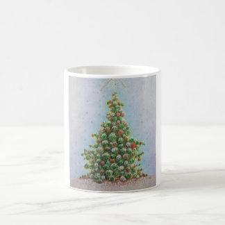 Árbol de navidad 2010 tazas de café