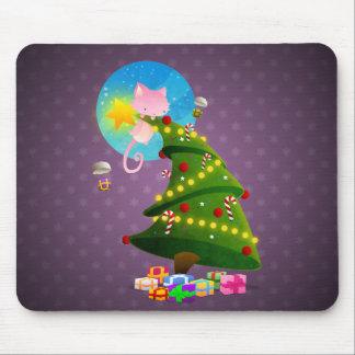 Árbol de navidad alfombrillas de ratón