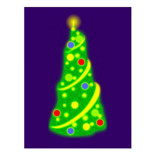 Árbol de navidad árbol de navidad christmas tree postales