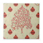 Árbol de navidad azulejos cerámicos