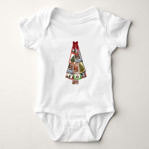Árbol de navidad body para bebé