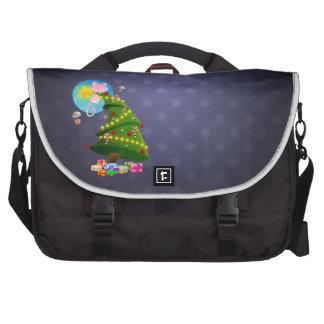 Árbol de navidad bolsa de ordenador