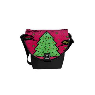 Árbol de navidad bolsas de mensajeria