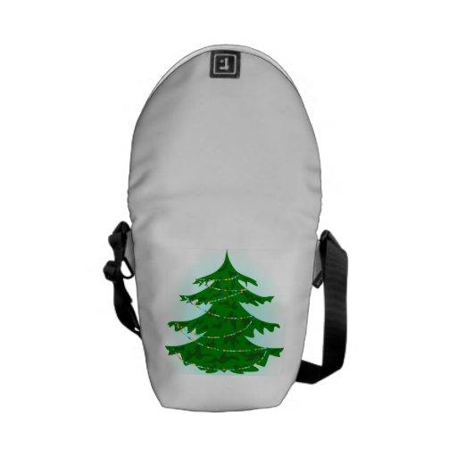 Árbol de navidad bolsas messenger