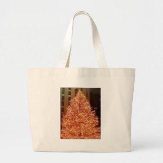 Árbol de navidad bolsa tela grande