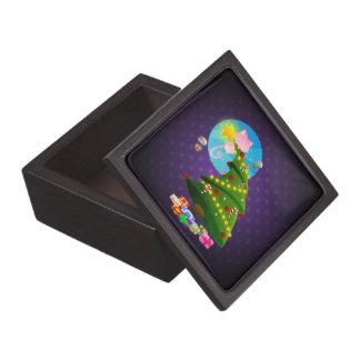 Árbol de navidad cajas de regalo de calidad