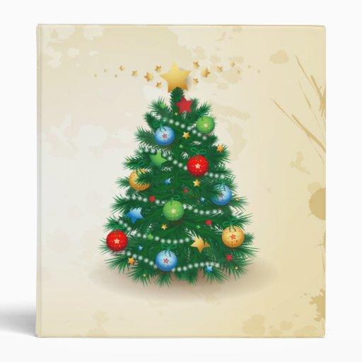 Árbol de navidad, carpeta