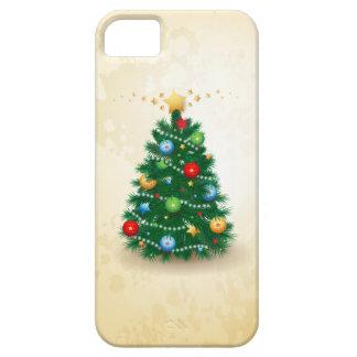 Árbol de navidad, caso del iPhone 5 Funda Para iPhone 5 Barely There