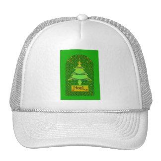 Árbol de navidad céltico - verde gorras de camionero