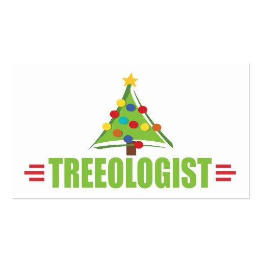 Árbol de navidad chistoso tarjeta personal