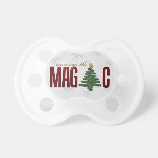 Árbol de navidad chupetes para bebes