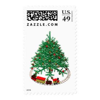 Árbol de navidad con el tren envio
