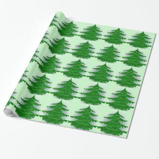Árbol de navidad de Camo Papel De Regalo