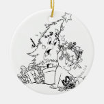 Árbol de navidad de Casper Adornos De Navidad