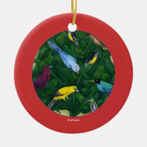 Árbol de navidad de Cocotte Adorno Redondo De Cerámica