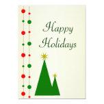 Árbol de navidad de Groupon Invitación 12,7 X 17,8 Cm