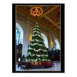 Árbol de navidad de la estación de la unión, postales