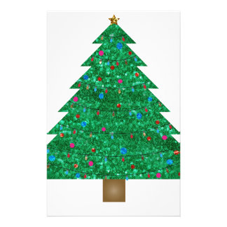 árbol de navidad de la lentejuela papelería
