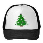 Árbol de navidad de la pelota de golf gorras de camionero