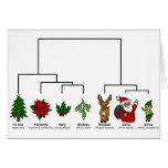 Árbol de navidad de la vida tarjeta