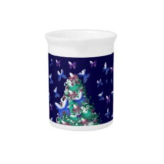 Árbol de navidad de las naturalezas jarrón