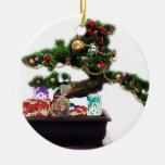 Árbol de navidad de los bonsais adorno de reyes