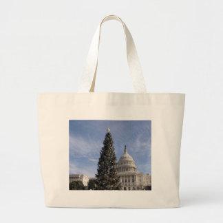 Árbol de navidad de los E.E.U.U. Capitol Hill Bolsa Lienzo