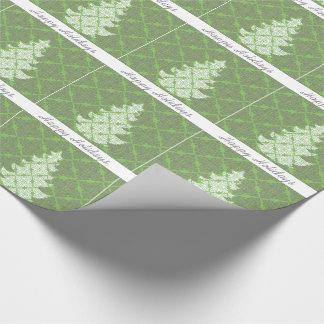 Árbol de navidad de lujo adornado del modelo del