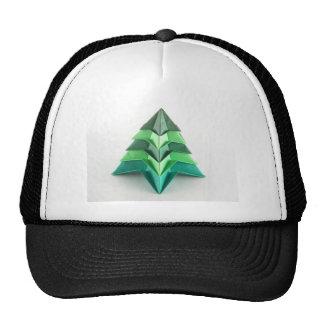 Árbol de navidad de Origami Gorras De Camionero