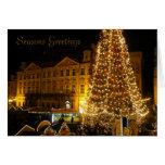 árbol de Navidad de Praga Tarjetas