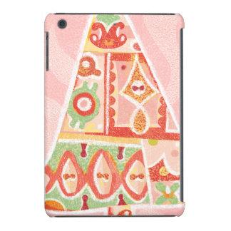 Árbol de navidad decorativo contemporáneo fundas de iPad mini