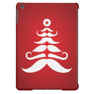 Árbol de navidad del bigote de Santa Carcasa iPad Air