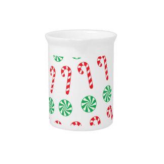 Árbol de navidad del caramelo jarrón