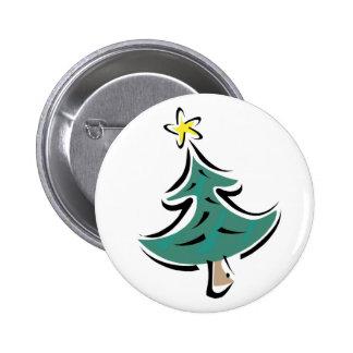 Árbol de navidad del chasquido pin