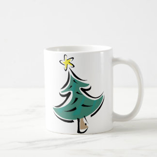 Árbol de navidad del chasquido tazas de café
