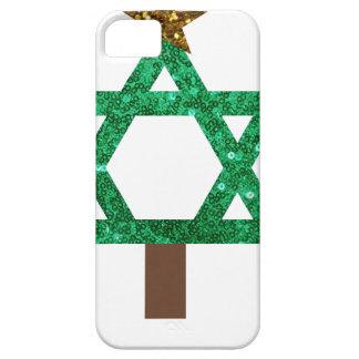 árbol de navidad del christmukkah funda para iPhone SE/5/5s