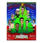 Árbol de navidad del GOP Postal