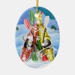 Árbol de navidad del kajak - maravillas de la adornos