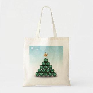 Árbol de navidad del ornamento - bolso bolsa tela barata
