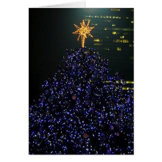 Árbol de navidad del parque de Bryant Tarjeta De Felicitación
