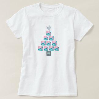¡Árbol de navidad del ROSA y del TRULLO! Playera