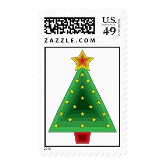 Árbol de navidad del triángulo envio