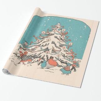 Árbol de navidad del vintage