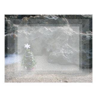 Árbol de navidad delante de Rocks.jpg Membretes Personalizados