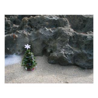 Árbol de navidad delante de Rocks.jpg Membrete Personalizado