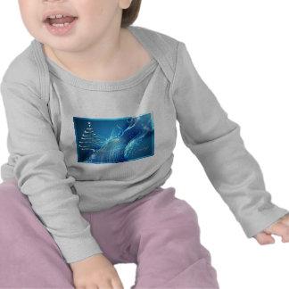 Árbol de navidad en BlueWave Camiseta